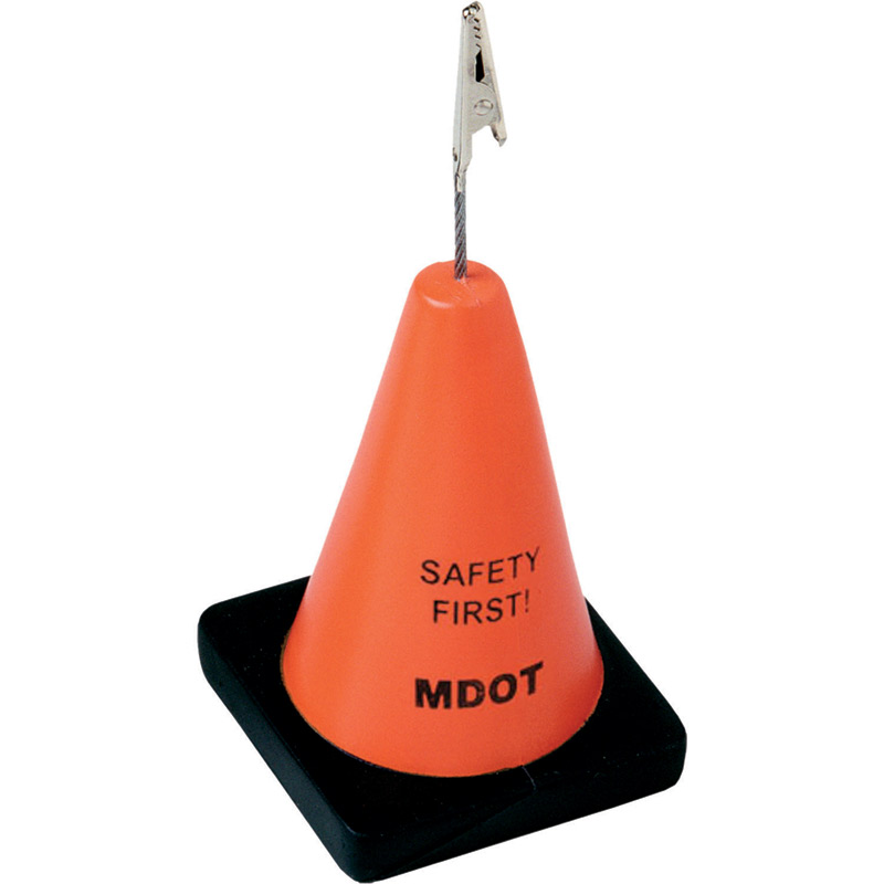 Construction Cone Stress Reliever/Memo Holder
