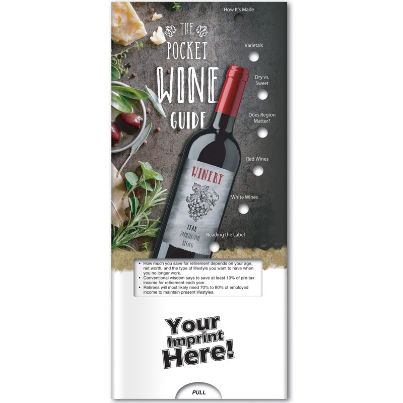 Pocket Slider -The Pocket Wine Guide