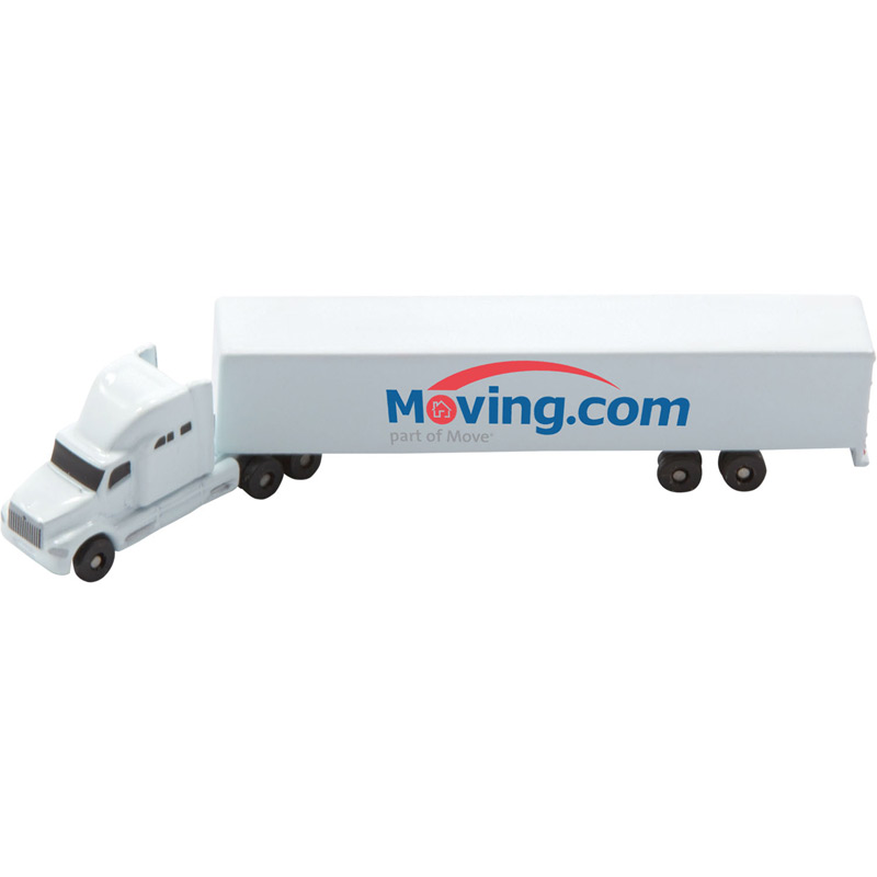 All Die Cast Conventional Sleeper with Die Cast Trailer