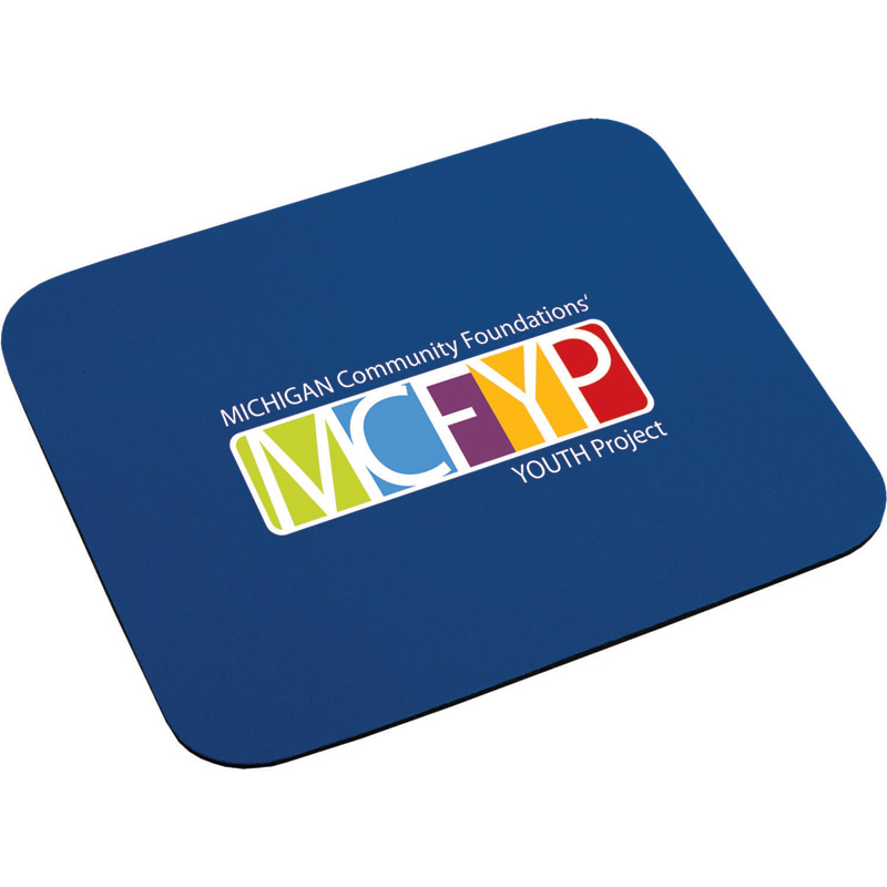 "1/8"" Thick Economy Mouse Pad"