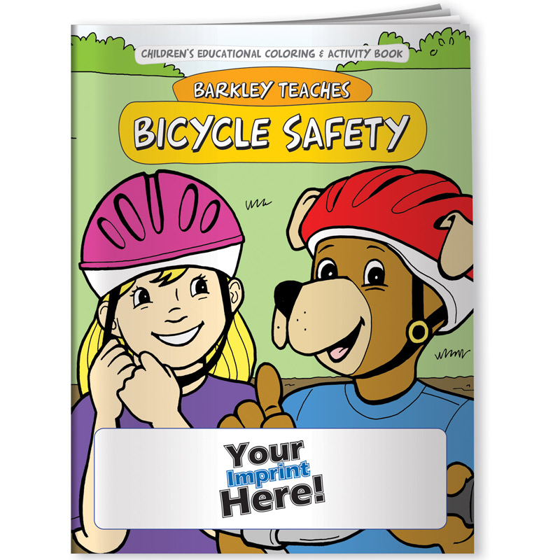 Coloring Book - Barkley Teaches Bicycle Safety