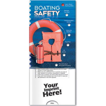 Pocket Slider - Boating Safety
