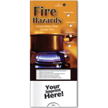 Pocket Slider - Fire Hazards: Home Safety with Escape Plan