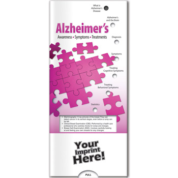 Pocket Slider - Alzheimer's: Awareness, Symptoms, Treatment