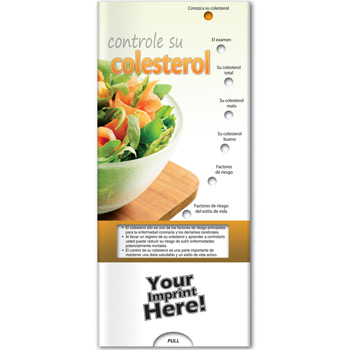 Pocket Slider - Controlling Your Cholesterol (Spanish)