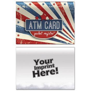ATM Pocket Register - Patriotic