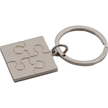 Puzzle Metal Key Tag