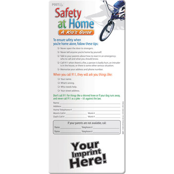 Post Up - Safety at Home: A Kid's Guide