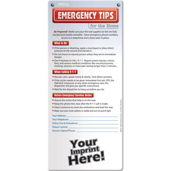 Post Up - Emergency Tips for the Home