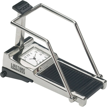 Metal Treadmill Clock