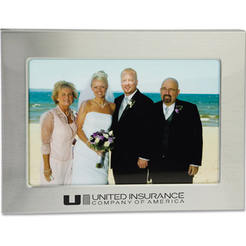 "4"" x 6"" Sleek Border Photo Frame"