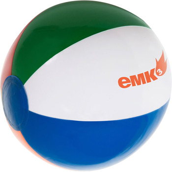 "16"" Inflatable Beach Ball"