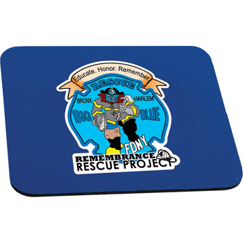 "1/4"" Thick Rectangle Mouse Pad"