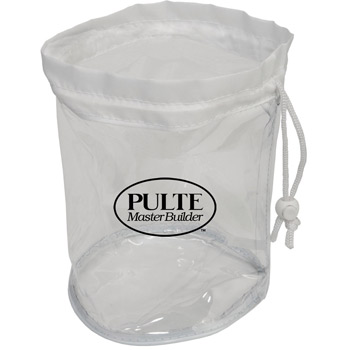 Small Clear Drawstring Bag