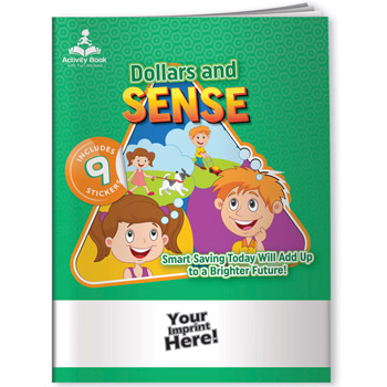 Activity Book w/ Fun Stickers - Dollars and Sense