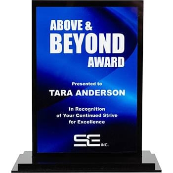 Acrylic/Metal Desk Award 4