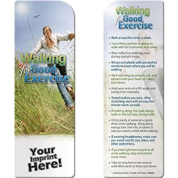 Bookmark - Walking for Good Exercise