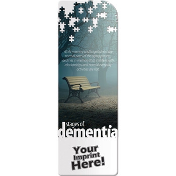 Bookmark - Stages of Dementia