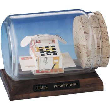 Business Card Sculpture - Telephone