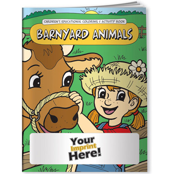 Coloring Book - Barnyard Animals