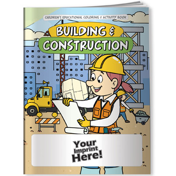 Coloring Book - Building & Construction