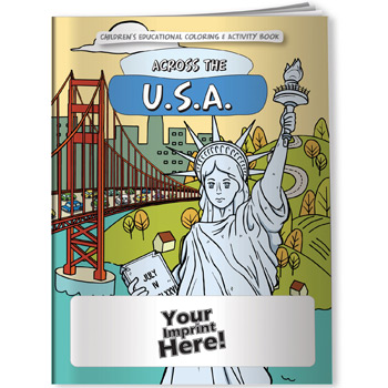 Coloring Book - Across the U.S. (U.S. state capitals)