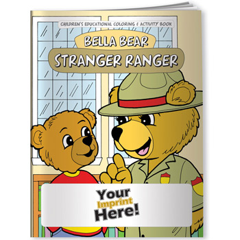 Coloring Book - Bella Bear: Stranger Ranger