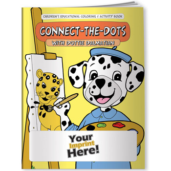 Coloring Book - Connect-the-Dots with Dottie Dalmatian