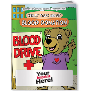 Coloring Book - Blood Donation