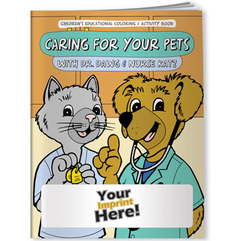 Coloring Book - Caring for Your Pets with Dr. Dawg and Nurse Katz
