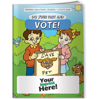 Coloring Book - Do Your Part & Vote