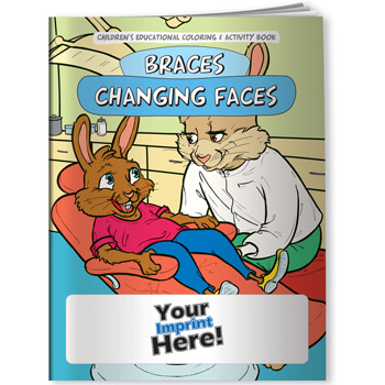 Coloring Book - Braces Changing Faces