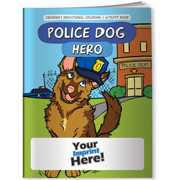 Coloring Book - Police Dog Hero