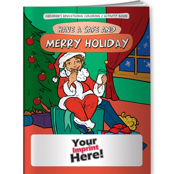 Coloring Book - Have a Safe & Merry Holiday