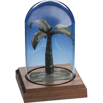 Palm Tree Business Card Sculpture