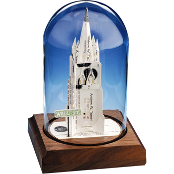 Business Card Sculpture - Trinity Church