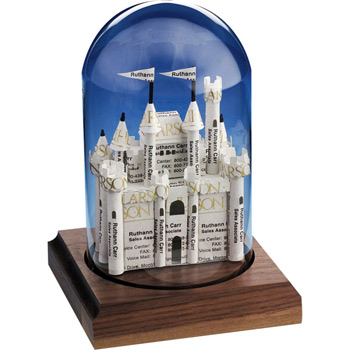 Castle Business Card Sculpture
