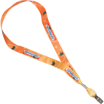 "1"" Heavy Weight Satin Lanyard"