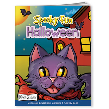Coloring Book with Mask - Spooky Fun Halloween
