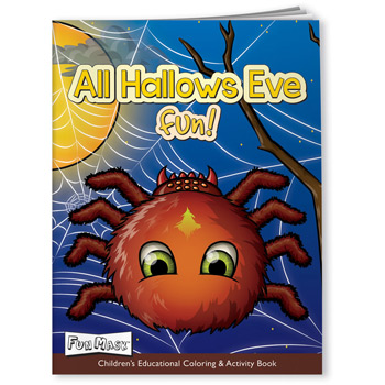 Fun Mask Coloring Book - All Hallows Eve Fun