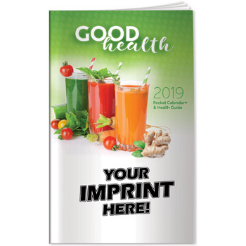 Pocket Calendar - 2019 Good Health