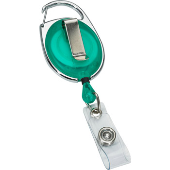 Retractable Badge Reel with Pocket Clip