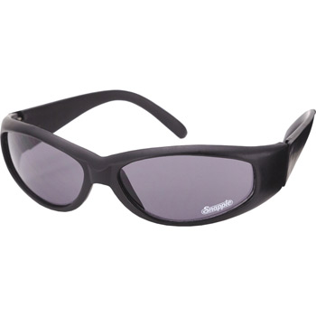 Racer Wrap Nylon Matte Black Sunglass