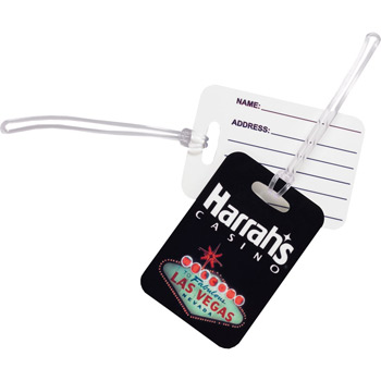 Sublimated Bag Tag Medium