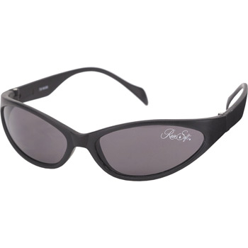 Snake Wrap Black Nylon Sunglass