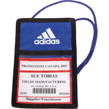 Trade Show Badge Pouch IV